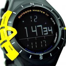 SPORTSTAR 仕博达 户外精英登山表 气压表 海拔手表军版