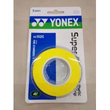 YONEX尤尼克斯AC102C手胶 3条装羽毛球拍手胶 吸汗带