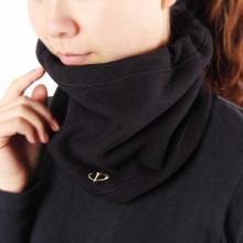 法藤Phiten围脖围巾 秋冬加厚保暖颈套正反两用水溶钛运动护具RM472 法力藤
