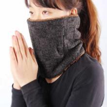 法藤Phiten围巾围脖运动护具秋冬加厚保暖颈套加绒羊毛颈部保暖套RM473101 法力藤