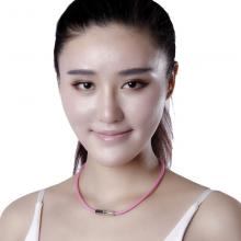 日本法藤Phiten钛项圈X30镜面钛项环 男女均适用佩戴 运动护具 法力藤 户外配饰