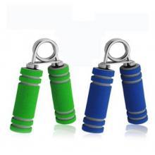 可力KELI A型 专业握力圈 手指力按摩 康复健身器材 环保橡胶可调节 双色可...