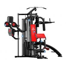 EVERE艾威GM6790力量综合训练器多功能组合三人站 训练健身器材