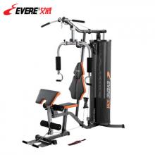 EVERE艾威多功能训练器GM8130 单人站综合力量健身器材 黑色 配重块4