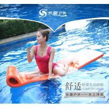 水趣柔软海绵非充气加厚水上游泳池温泉度假游泳装备海绵浮排浮床