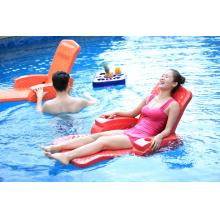 水趣水上沙发可折叠成人男女汽船温泉度假酒店游泳池海绵水上浮椅