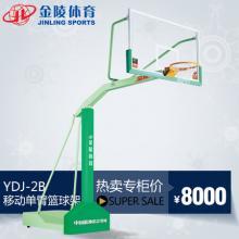 JINLING/金陵体育器材篮球架YDJ-2B移动单臂篮球架11221FIBA认证产品