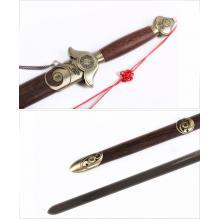 劲武太极剑不锈钢花梨木武术剑龙泉产宝剑男女士健身表演剑送剑袋