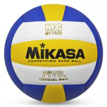 MIKASA米卡薩排球MV1500 PU中考學生5號室內室外專用訓練比賽