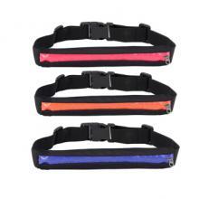 多功能骑行跑步防盗隐形贴身手机休闲小腰包男女户外用品运动腰包 橙色
