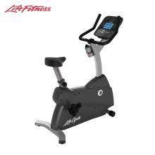 LifeFitness美國力健直立健身車家庭款健身器材靜音動感單車C1