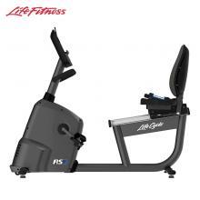 LifeFitness美國力健靠背健身車家用款靜音磁控RS3