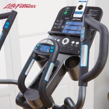 LifeFitness美國力健橢圓機家用磁控靜音智能橢圓儀太空漫步機E5