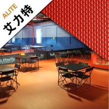 艾力特 布纹4.5mm乒乓球 运动场地体育场馆 PVC运动 塑胶地板