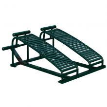 瑞动海风系列双位框架腹肌板户外健身器材室外健身器材公园健身器材户外路径小区健身器材