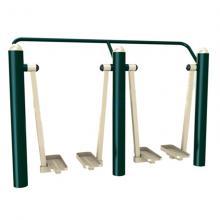瑞动海风系列双位漫步机户外健身器材室外健身器材公园健身器材户外路径小区健身器材