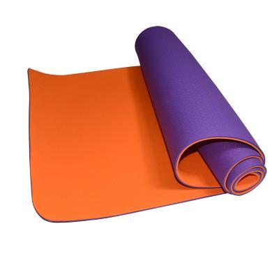 TFEEL TPE 瑜伽垫 瑜伽毯 运动垫 双色6MM 健身垫  加宽 防滑