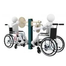 瑞动康复系列钟摆臂力训练组合残疾人户外健身器材室外健身器材公园健身器材户外路径小...