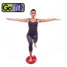 Gofit高难度平衡垫气垫训练器软式 瑜伽平衡盘按摩健身平衡碟