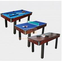 家用娱乐型台球桌 三用球台(乒乓球台 台球桌 餐桌)家用
