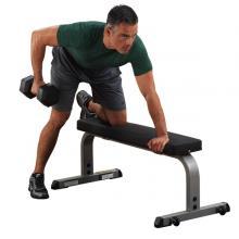 STEELFLEX史帝飞BODYSOLID GFB350 平推训练椅哑铃练习平椅哑铃凳