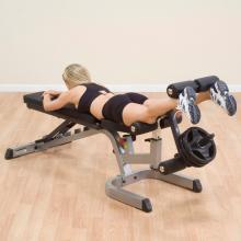 STELLFLEX史帝飞(Body-solid)多功能训练凳GFID71 含腿伸展配件 无哑铃片