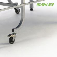 三聚氰胺乒乓球桌 日本SAN-EI三英乒乓球台SVM-22折叠连体双折