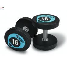 ROCKIT商用健身PU哑铃 健身房专用哑铃