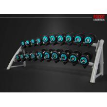 ROCKIT商用健身哑铃架 10对装 高端健身房器械